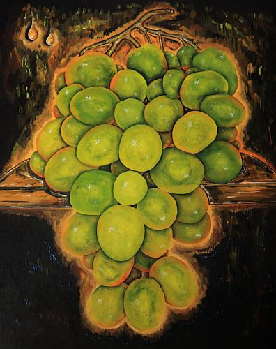 Ulf Göbel, Halbtrocken II, Plants: Fruits, Still life, Contemporary Art