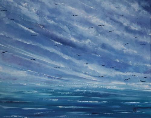 Ulf Göbel, Sehnsucht III, Landscapes: Sea/Ocean, Nature: Miscellaneous, Contemporary Art