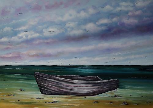 Ulf Göbel, Gestrandet, Landscapes: Sea/Ocean, Nature: Wood, Contemporary Art