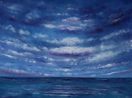 Ulf Göbel, Sehnsucht XIV, Landscapes: Sea/Ocean, Nature: Miscellaneous, Contemporary Art