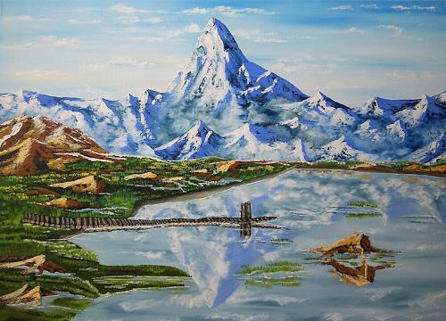 Ulf Göbel, D´s Hore-Matterhorn (CH), Landscapes: Mountains, Landscapes: Sea/Ocean, Contemporary Art