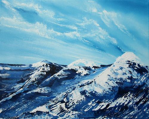 Ulf Göbel, Untergang, Landscapes: Sea/Ocean, Miscellaneous Emotions, Contemporary Art