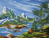 Ulf-Goebel-Landscapes-Mountains-Nature-Miscellaneous-Contemporary-Art-Contemporary-Art