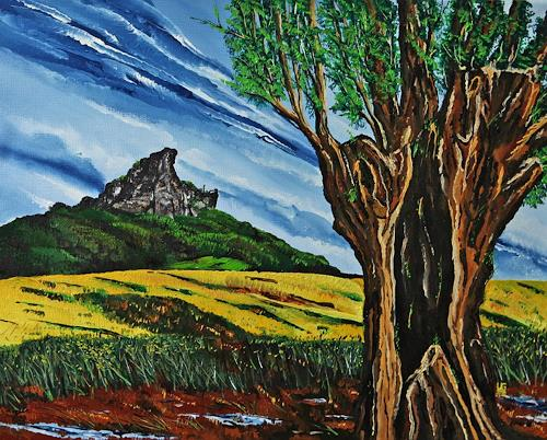 Ulf Göbel, Lebenszeit, Landscapes: Mountains, Plants: Trees, Contemporary Art