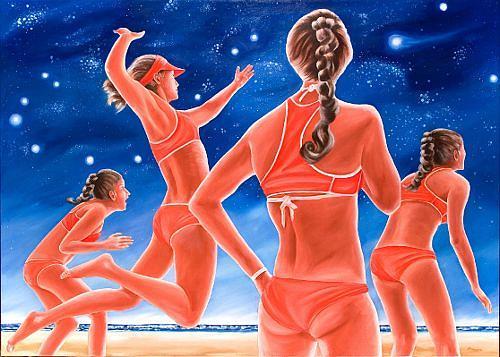 Joerg Peter Hamann, Im Sternzeichen Skorpion, Sports, Outer space: Stars, Post-Surrealism, Expressionism