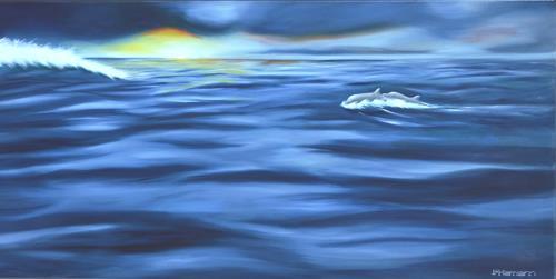 Joerg Peter Hamann, Best Friends - forever, Nature: Water, Animals: Water, Realism