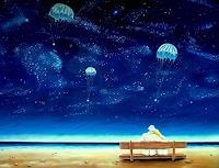 Joerg-Peter-Hamann-Landscapes-Sea-Ocean-Outer-space-Stars-Contemporary-Art-Post-Surrealism