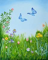 Joerg-Peter-Hamann-Landscapes-Spring-Plants-Flowers-Modern-Age-Naturalism