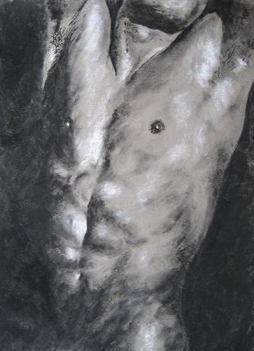Sabina Haas Art Erotic motifs: Male nudes People: Men Contemporary Art
