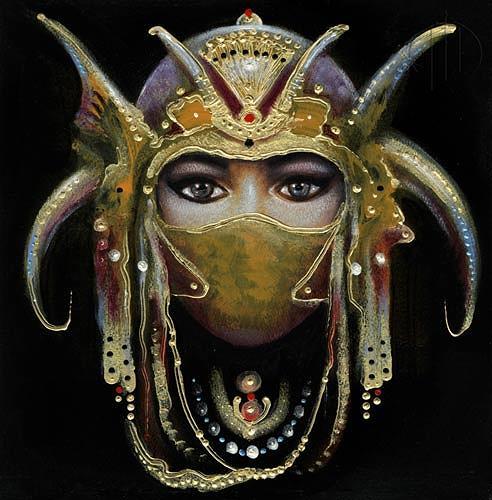 Giampaolo Bianchi, Come una maschera, People: Women, Fashion, Contemporary Art, Expressionism