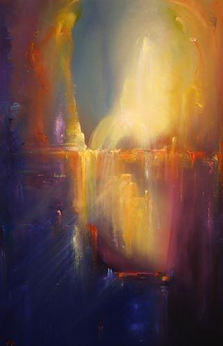 Petra Ackermann, Imagica, Fantasy, Contemporary Art, Expressionism