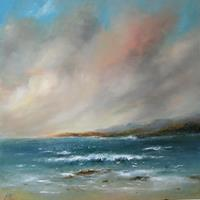 Petra-Ackermann-Landscapes-Sea-Ocean-Landscapes-Mountains-Contemporary-Art-Contemporary-Art