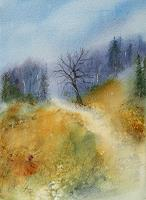 Petra-Ackermann-Landscapes-Hills-Nature-Wood-Contemporary-Art-Contemporary-Art