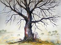 Petra-Ackermann-Miscellaneous-Landscapes-Plants-Trees-Contemporary-Art-Contemporary-Art