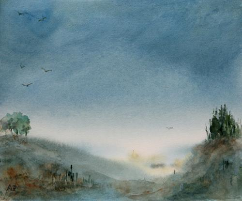 Petra Ackermann, EverDream, Miscellaneous Landscapes, Nature: Miscellaneous, Contemporary Art, Expressionism