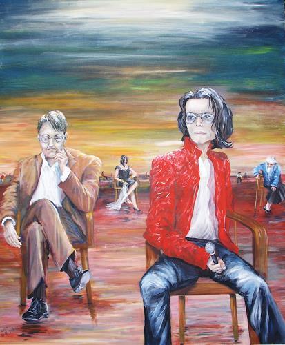 Helga Anders-Faber, Einsamkeit 2, Emotions: Depression, Fantasy, Expressive Realism