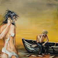 Helga-Anders-Faber-Humor-Modern-Age-Expressive-Realism