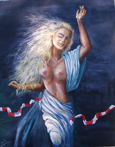 Helga Anders-Faber, Freiheit, Society, People: Women, New Figurative Art