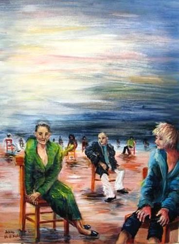 Helga Anders-Faber, Einsamkeit (soledat), Miscellaneous Emotions, Fantasy, Expressive Realism, Expressionism