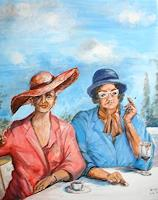 Helga-Anders-Faber-People-Women-Modern-Age-Expressive-Realism