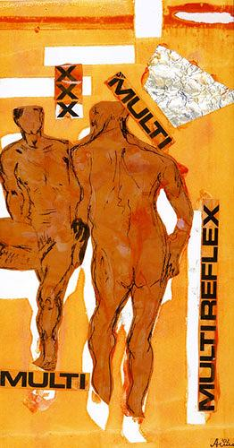 Anna Heickmann Erotic motifs Male nudes Abstract art Modern Age Modern Age Nef, a Utah studies teacher and cheerleading adviser,