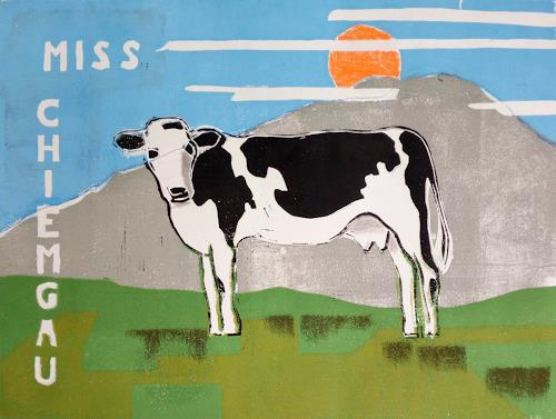 Manfred Riffel, Miss Chiemgau, Animals: Land, Expressive Realism