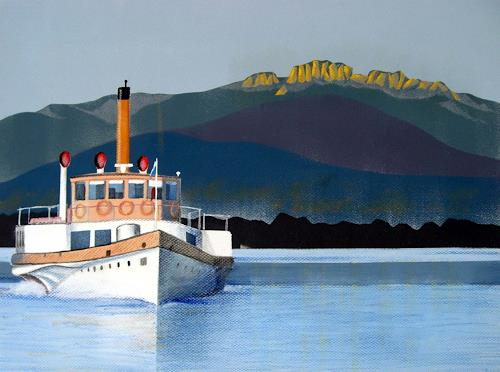 Manfred Riffel, am Chiemsee, Landscapes: Sea/Ocean, Contemporary Art