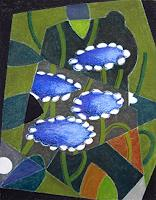 Manfred-Riffel-Plants-Flowers-Modern-Age-Impressionism-Neo-Impressionism