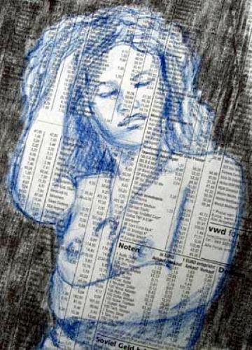 Manfred Riffel, o.T., People, Contemporary Art, Expressionism