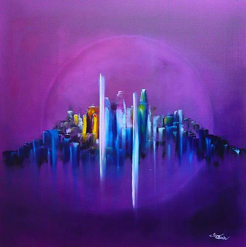 Mariola Wloch, Zegarmistrz Swiatla Purpurowy, Abstract art, Symbol, Abstract Art, Expressionism