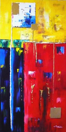 Mariola Wloch, Feeling, Abstract art, Miscellaneous Emotions, Abstract Art