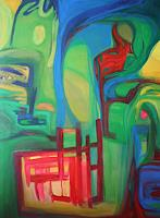 Gisela-Zimmermann-Abstract-art-Abstract-art