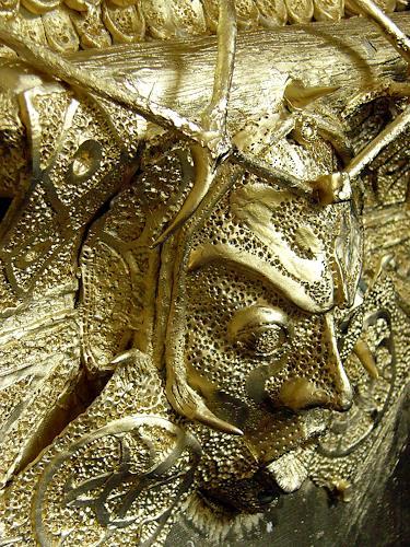 Marian Zaic, Werk 024 Detail link, Abstract art, Contemporary Art, Abstract Expressionism