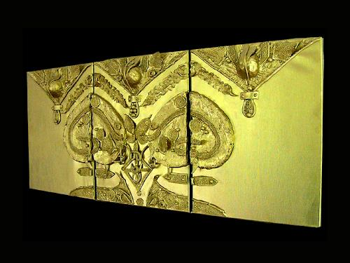 Marian Zaic, Werk 003 T (Triptychon), Abstract art, Abstract Art