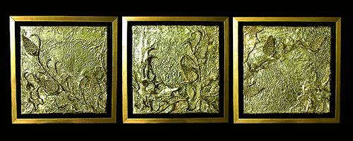 Marian Zaic, Werk 011 T (Triptychon), Abstract art, Abstract art