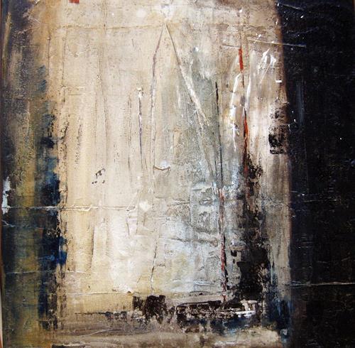 Kerstin Sigwart, Blick zum Hafen, Abstract art, Contemporary Art, Abstract Expressionism