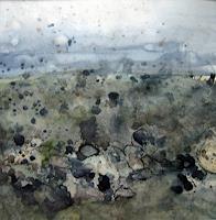 Kerstin Sigwart, Mauer in der Ebene