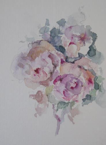 Kerstin Sigwart, wahre Liebe, Plants: Flowers, Abstract Art