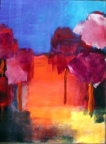 Kerstin Sigwart, Landschaft 01/01, Abstract art, Abstract Art