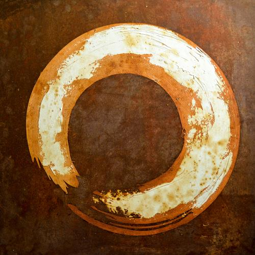 """Michael Külbel, """"rust art #7″ 50×50 cm, Interiors: Industry  , Industry  , Modern Age, Abstract Expressionism"""