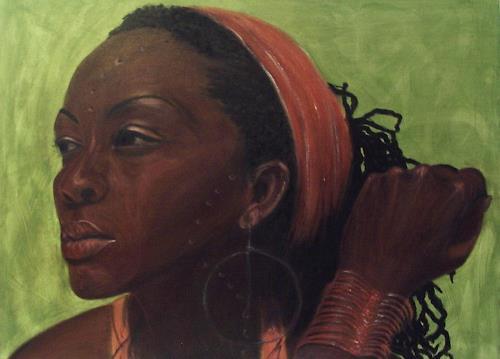 Amigold, Amana, People: Portraits, Abstract Art