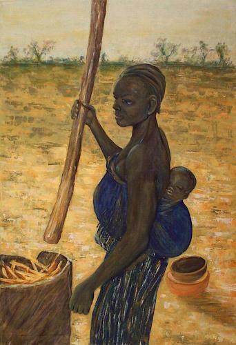 Amigold, Bei der Arbeit, People: Women