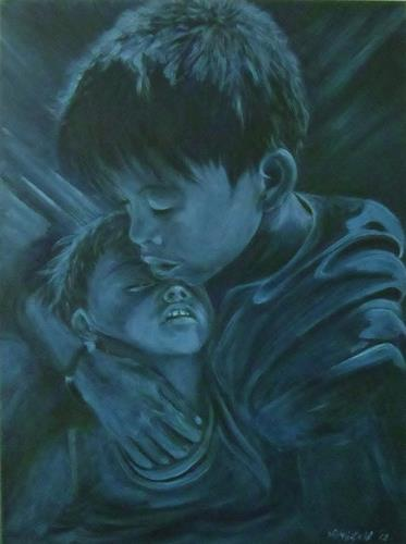 Amigold, Bernard and Dali - Brotherlove, People: Children