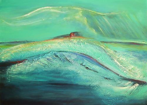 Amigold, Hinterm Horizont, Landscapes: Sea/Ocean, Expressionism