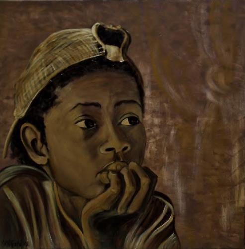 Amigold, Nachdenklich, People: Portraits, People: Children
