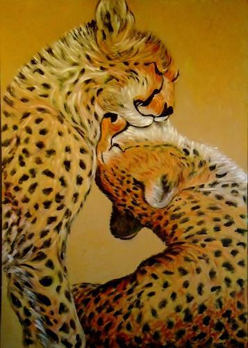 Amigold, Chitas, Animals: Land, Post-Impressionism