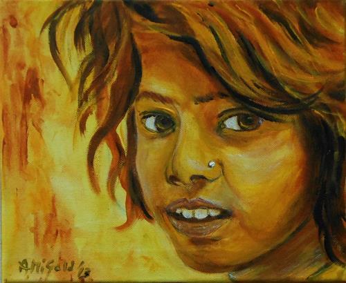 Amigold, Ragazzina, People: Portraits