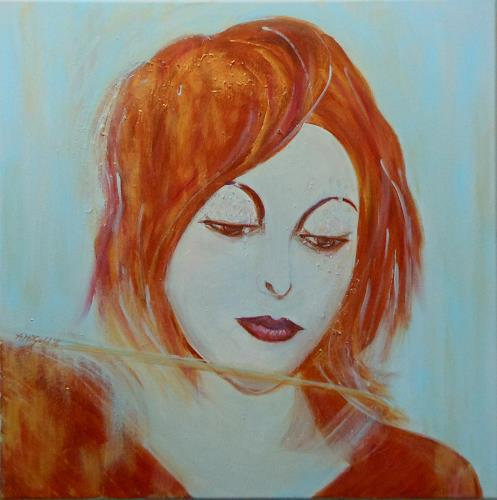 Amigold, Jessica, People: Portraits, Miscellaneous Emotions, Abstract Art