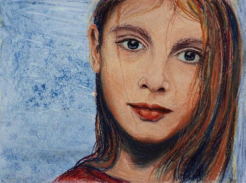 Amigold, Dezembermädchen, People: Portraits, Expressionism