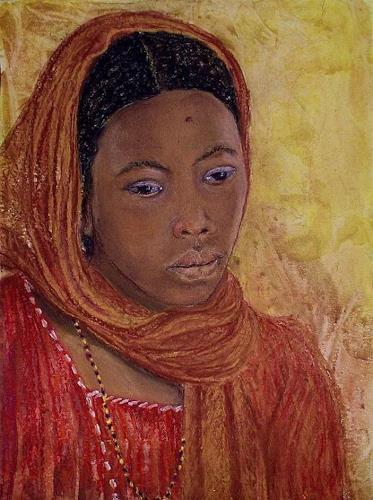 Amigold, Junge Tuaregfau, People: Portraits